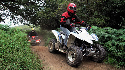 Quad Bike Safari for Two in Pembrokeshire