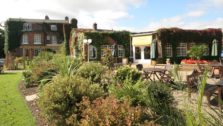 Hotel Escape with Dinner for Two at Rossett Hall Hotel, Cheshire