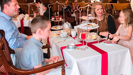 Family Royal Afternoon Tea at The Rubens