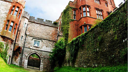 Castle Escape with Dinner for Two at Ruthin Castle Hotel
