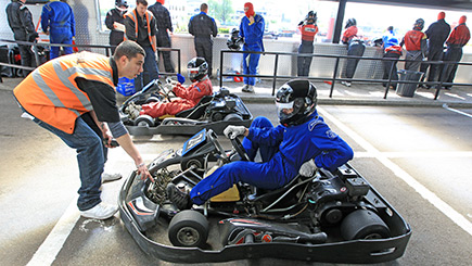 Outdoor Endurance Karting for Five