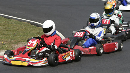 Outdoor Grand Prix Karting in Hertfordshire