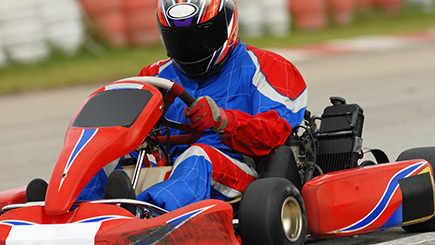 Extended Outdoor Grand Prix Karting for Two in Hertfordshire
