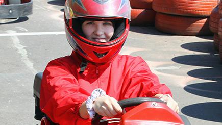Junior Outdoor Karting in Hertfordshire