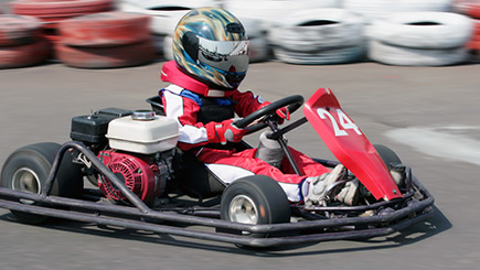 Kids Outdoor Go Karting