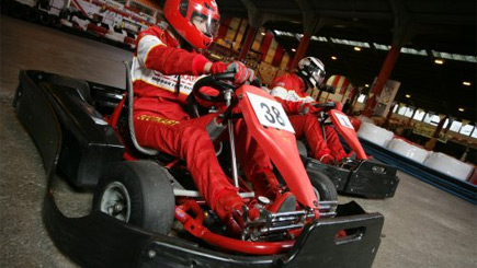 Indoor Karting for Two in Glasgow
