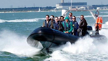 90 Minute Extreme RIB Experience in Southampton