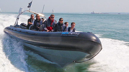 90 Minute Extreme RIB Powerboating in Southampton