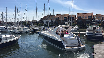 Luxury Motor Cruiser Driving Experience in Southampton