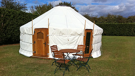 Two Night Yurt Spa Break for Two at Suffolk Retreats