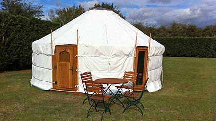 Two Night Yurt Break for Two at Suffolk Retreats