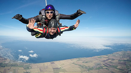Tandem Skydiving in Yorkshire