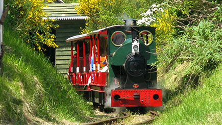 Steam Train Driving Taster at Sherwood Forest Railway