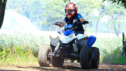 Quad Bike Safari for Two in Suffolk
