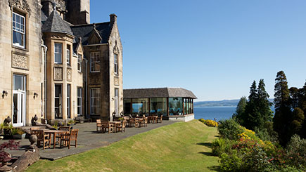 Country House Escape with Dinner for Two at Stonefield Castle, Scotland