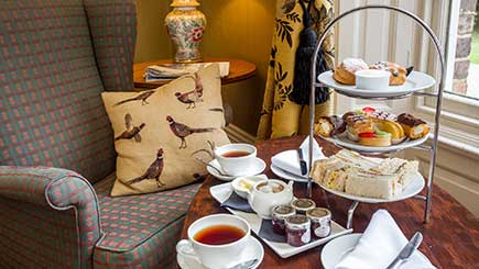 Champagne Afternoon Tea for Two at Solberge Hall, North Yorkshire