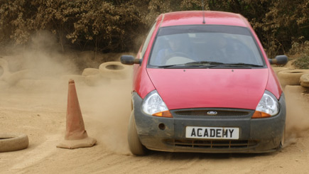 Kids and Parents' Rally Driving at Silverstone Rally School