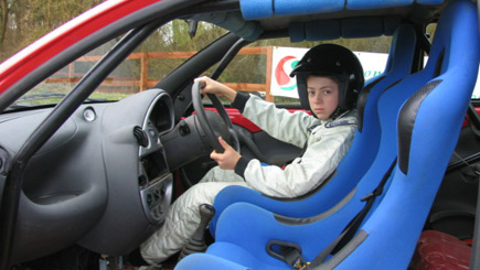 Junior Rally Driving at Silverstone Rally School
