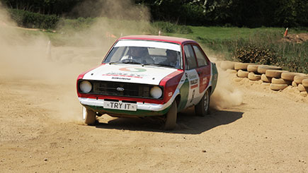 Ford Escort Rally Driving in Northamptonshire