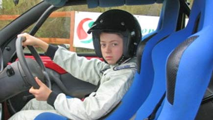 Junior Ford Ka Hot Laps