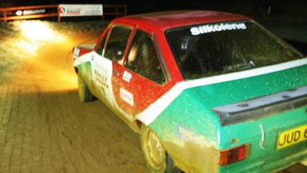 Night Rally Driving