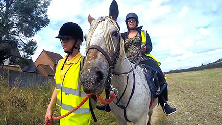 Horse Riding and Lunch in Bedfordshire for One