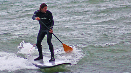 Stand Up Paddleboarding For Two In Bournemouth