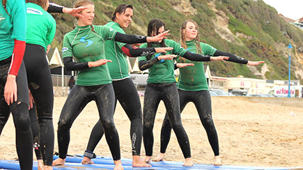 Surfing Taster in Bournemouth