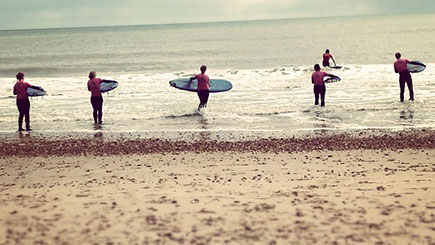 Surfing Escape for Two in Bournemouth