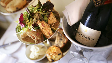 Champagne Afternoon Tea For Two At The White Swan