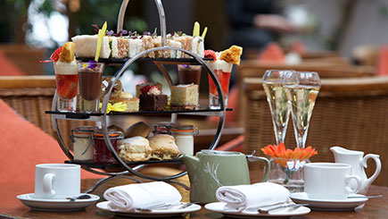 Champagne Afternoon Tea for Two at Stanwell House Hotel