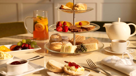 Luxury Afternoon Tea for Two at Stoke Place