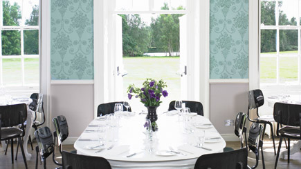 Gourmet Dining for Two at Stoke Place, Buckinghamshire