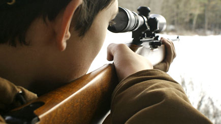 Target Shooting for Two in North Yorkshire