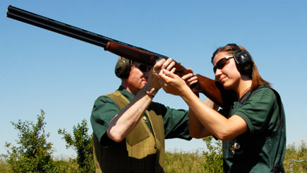 Introduction to Clay Shooting for Two