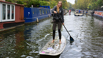 Introduction to Paddleboarding at Paddington Basin