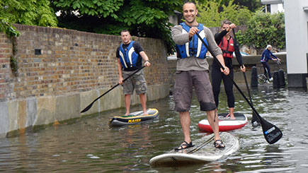 Introduction to Paddleboarding for Two at Paddington Basin