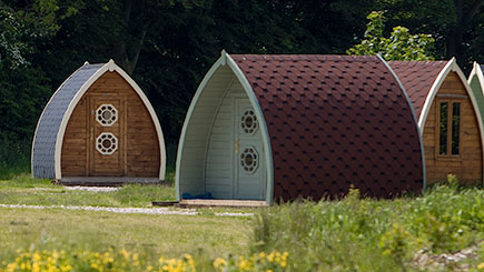 Two Night Camping Pod Break for Two in Lancashire