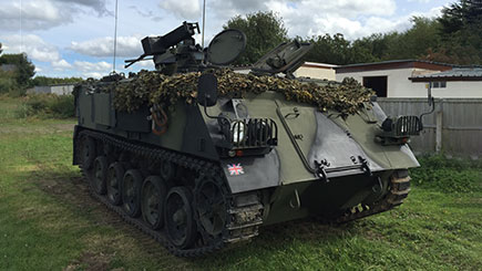Tank Driving in Oxfordshire