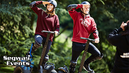 60 Minute Anytime Segway Rally For Two