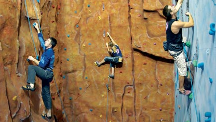 Indoor Rock And Ice Climbing For Two