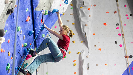 Indoor Rock And Ice Climbing