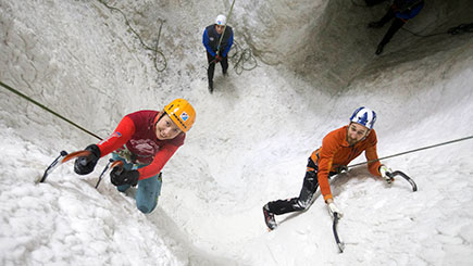 Indoor Ice Climbing For Two