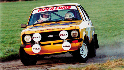 Rally Driving Thrill in North Yorkshire