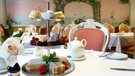 Sparkling Afternoon Tea for Two at the London Elizabeth Hotel, Hyde Park
