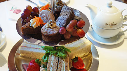 Champagne Afternoon Tea For Two At Tophams Hotel