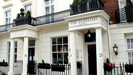 Hotel Escape For Two At Tophams Hotel
