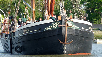Birdwatching Cruise on a Thames Sailing Barge in Ipswich