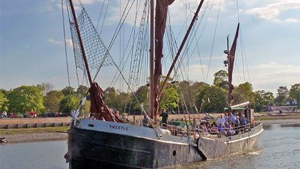 Afternoon Tea Cruise For Two On A Thames Sailing Barge In Essex