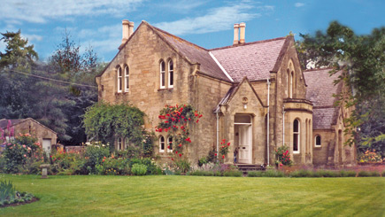 Hotel Escape for Two at The Old School House, Tillmouth